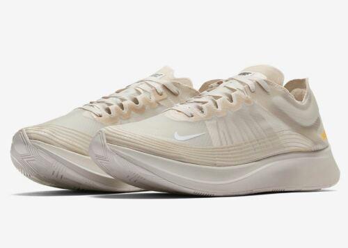 Nike Zoom Fly SP Herren Laufschuh Light Bone 44 US10 UK9 Running AJ9282-002