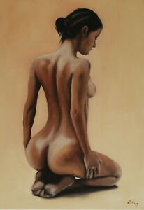 1-Limited-edition-Signed-Print-from-Original-oil-painting-figure-female-nude