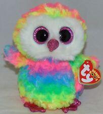 7e8d3f79f41 item 6 New Foil design! Ty Beanie Boos OWEN the Tie Dyed Owl 6