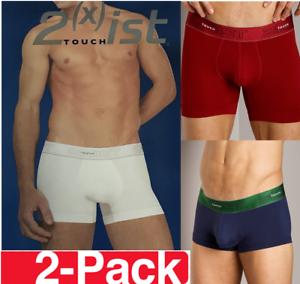 2 x ist Uomo Boxershorts Mutande Biancheria Intima PANTS TAGLIA S M L XL 2 egli Pack
