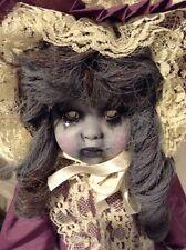 Vyckie Van Goth OOAK creepy Horror Victorian Doll macabre
