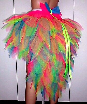 Halloween Hen Party etc. Amazing Crazy Bird of Paradise Tutu with Stunning Tail