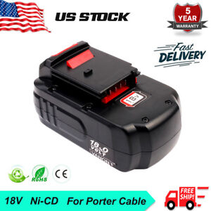 18V-18Volt-2-0Ah-Battery-For-PORTER-CABLE-PC18B-PC18B-2-Cordless-Battery-Pack-US
