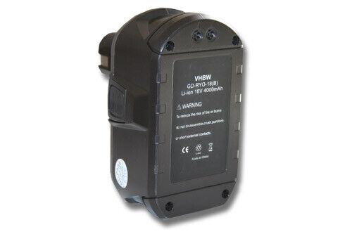 original vhbw® AKKU 4000mAh für RYOBI One BID-1801M BID-180L