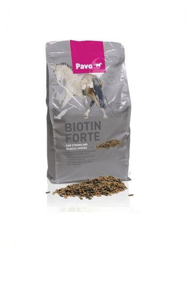 /kg Pavo Biotin Forte 3kg starke und elatische Hufe Pferd Huf Biotin Forte