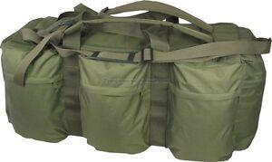 Combat Army Tactical Assault Kit Travel Shoulder Bag Rucksack Hold All Green New