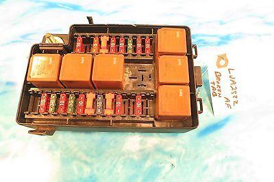 JAGUAR XK8 FUSE BOX ENGINE COMPARTMENT HOOD LJA2822AF OEM ...