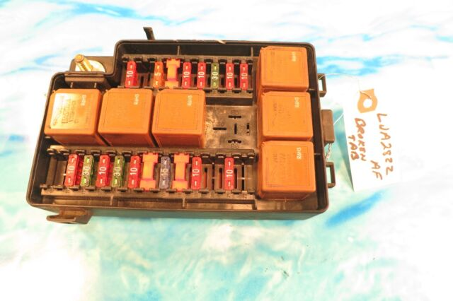 JAGUAR XK8 FUSE BOX ENGINE COMPARTMENT HOOD LJA2822AF OEM 1997 -1999 for  sale onlineeBay