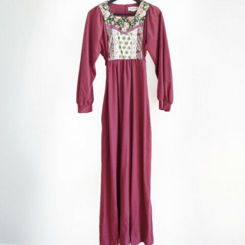 Vintage Estate Sears Jr Bazaar ILGWU Dress