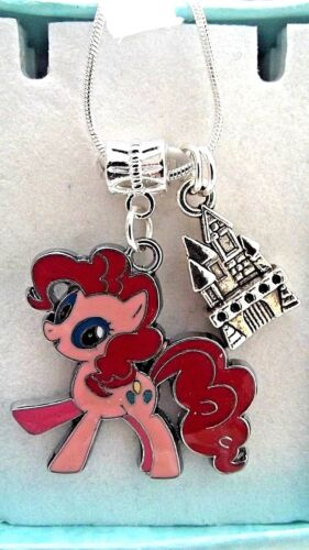 MY LITTLE PONY PINKY PIE PONY PALACE CHAIN,22 INCH GIFT BOX PARTY BIRTHDAY PARTY