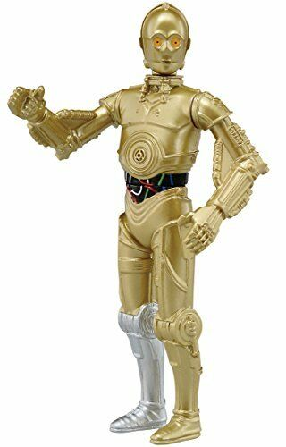 Takaratomy Star Wars Metallo Collezione Mini #04 C-3PO Action Figure
