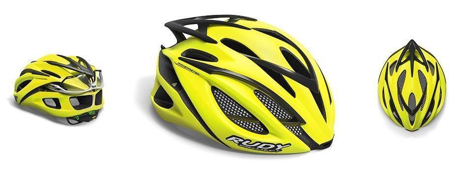 Casco Bici RUDY PROJECT RACEMASTER giallo Fluo Matt