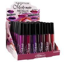 6 PCs set Kleancolor Madly Matte Metallic Liquid LipGloss Lipstick LG1822