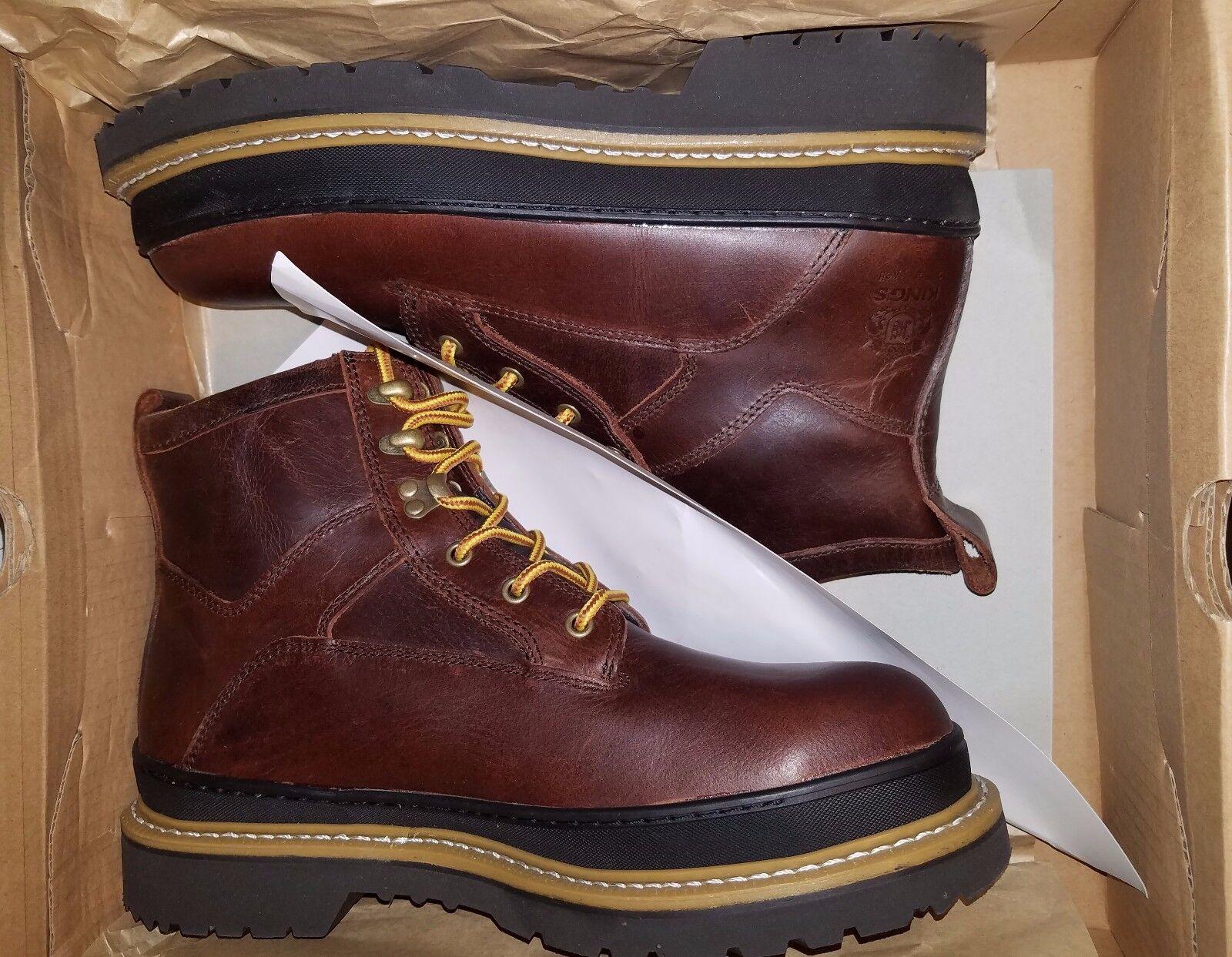 King's Honeywell KGEO02 Steel Toe Goodyear Welted Leather Work Stiefel 6  Größe 11.5