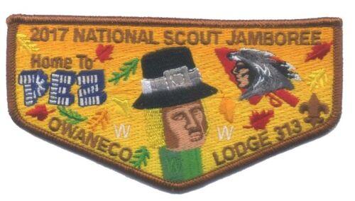 Owaneco Lodge 313-2017 Jamboree Pez Trader OA Flap