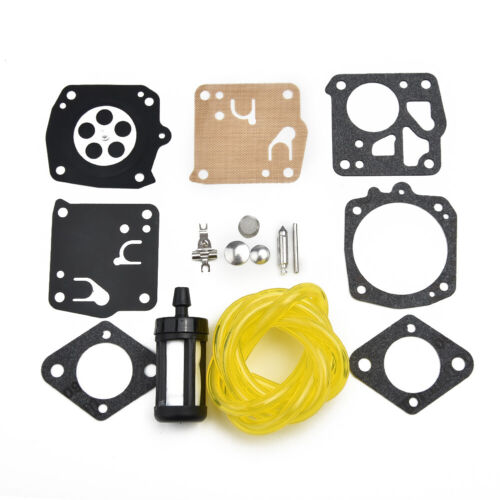 Carburetor REBUILD Kit For Homelite XL12 SXLAO//SUPER XL XL-98 SXL Auto Chain-Saw