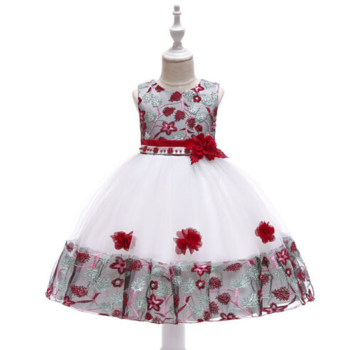 2018 New Arrival First Communion Dresses Sweet Kid Girl Flower Pageant Dress