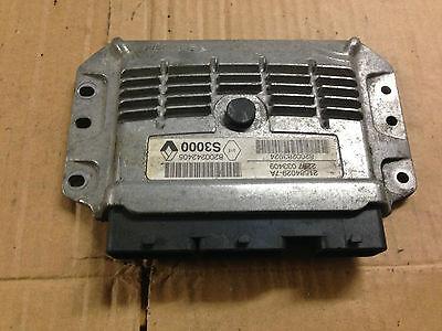 RENAULT MEGANE SCENIC 1.6 ENGINE  ECU 21584029-7A 8200242405 8200283924 S3000