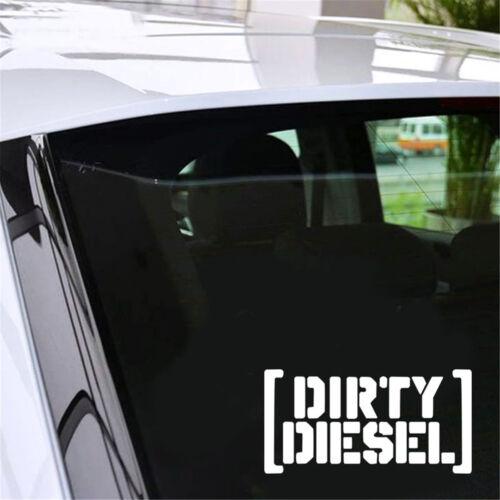 Dirty Diesel JDM DUB VAG Sticker Vinyl Decal Car Window Wall Bumper Decor Gift