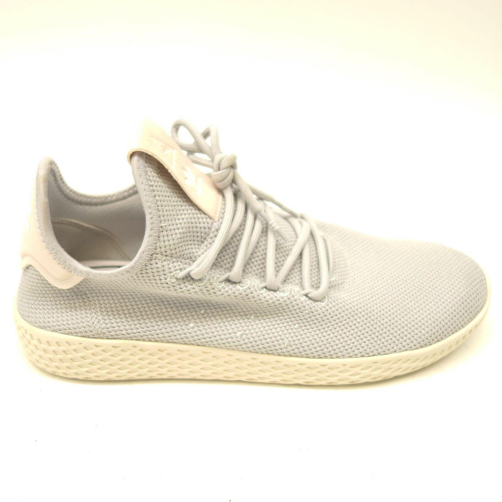 Adidas Pharrell Williams Taglie 8.5 Tennis Hu Brillante grey Bianco
