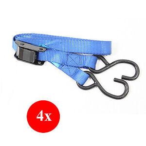 4x-DynaSun-FH45628-Cinghia-Fissaggio-a-Nastro-Tenditore-Cintura-Tensore-e-Ganci