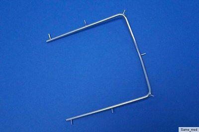 EntrüCkung Kofferdam Rahmen 10 Cm Kofferdamrahmen, Top Qualität 1a Edelstahl Feines Handwerk