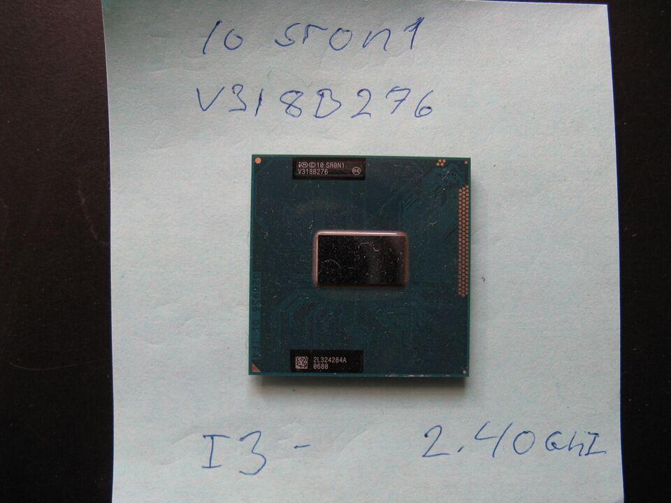 Cpu i3 2.40ghz, intel, Intel g2 mobile