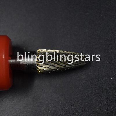 "G6 Cylindrical Cut Tungsten Carbide Burr Bur Cutting Tool Die Grinder Bit 1//4/"""