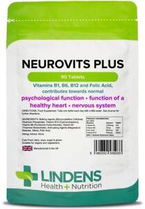 Neurovits-Plus-90-Tablets-Vitamin-B1-B6-B12-Folic-Acid-Lindens-5033
