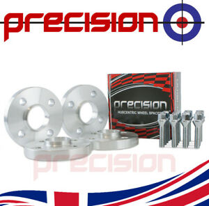 20mm-Hubcentric-Spacers-2-Pairs-Bolts-for-VW-Polo-1981-1994-Aftermarket-Alloys