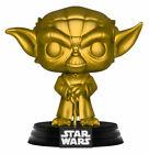 Funko Pop! Movies: Star Wars - Yoda (Gold) (Metallic) Vinyl Figure (Walmart Exclusive)