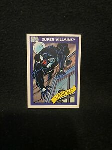 1990 Marvel Universe Super-Villains Venom Trading Card #73 NM