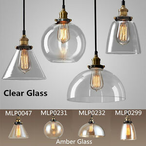vintage led h ngelampe modern kronleuchter lampe retro glas k che pendelleuchte ebay. Black Bedroom Furniture Sets. Home Design Ideas
