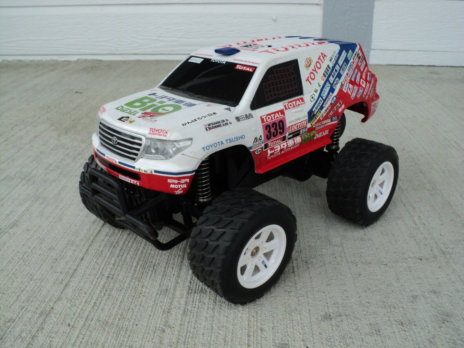 Nikko Toyota Hilux RC Tyco Electric Japan Hobby RARE