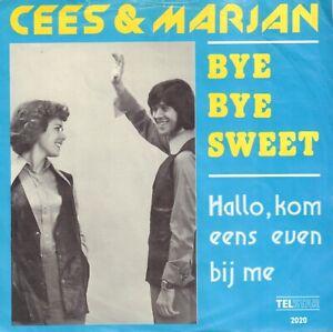 CEES-amp-MARJAN-Bye-Bye-My-Sweet-1974-TELSTAR-VINYL-SINGLE-7-034