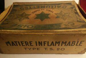 Rarissime-presentoir-bureau-de-tabac-pour-boite-allumettes-ancienne-Suedoise