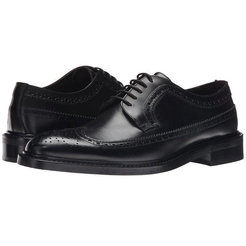 To bota New York  Nathaniel  Detalle en los Bordes Derby, Hombre Zapatos Vestido