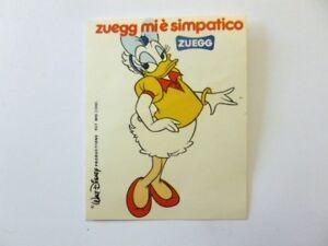 DéSintéRessé Figurina Adesivo Succhi Zuegg Disney _ Paperina Daisy Duck (cm 6x7) Bianco Avec Des MéThodes Traditionnelles