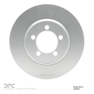 Disc Brake Rotor-Geospec Coated Rotor Front DFC 604-54043