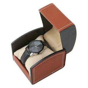 Jewelry-Display-Box-Case-PU-Leather-Bracelet-Watch-Single-Box-Square-Gift-SS3