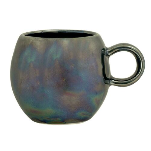 Gobelet Paula Bleu 250 ml H 8,5 cm céramique bloomingville Tasse 8 cm d