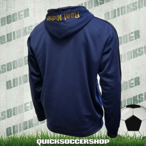 Real Madrid Hoodie Jacket Track Soccer Adult Sizes Soccer New Season jersey