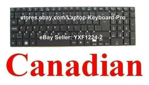 CA Canadian Keyboard for Acer Aspire MS2394 MS2372 P5WE0