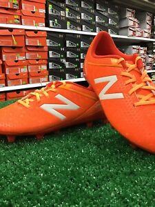 best price uk store uk cheap sale New Balance Visaro Fg Orange Soccer Cleats Sz 1.5y New In Box ...
