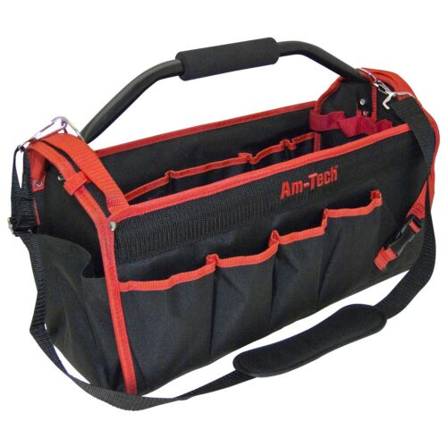 Tool Caddy Tote Bag Heavy Duty Base Carry Case Holdall 18/'/' Amtech Electricians