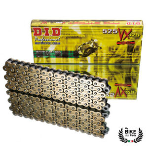 525 x 110 Links O-Ring Motorcycle Chain Yellow
