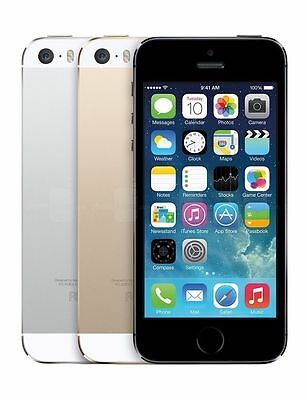 Unlocked Apple iPhone 5s 16GB Smartphone Rogers Fido Bell Telus AT&T