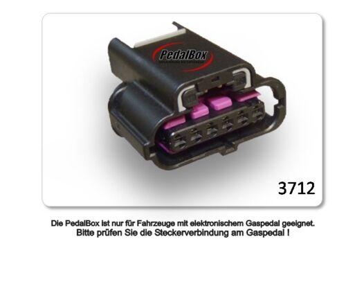 DTE Systems PedalBox 3s para VW Caddy 2k a partir de 2004 2.0l SDI r4 51kw acelerador chip