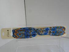 L.Erickson USA NWT Multi-Color  stretch headband with knot