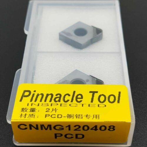 2pcs CNMG120408 PCD30 CNMG432 PCD30 Used for Aluminum Diamond PCD INSERT